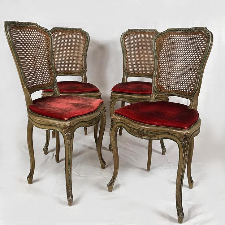 quatre-chaises-louis-xv