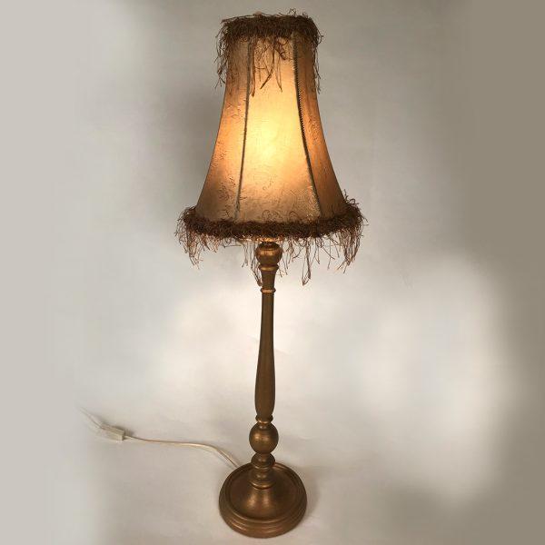 lampe-bois-dore-plumes