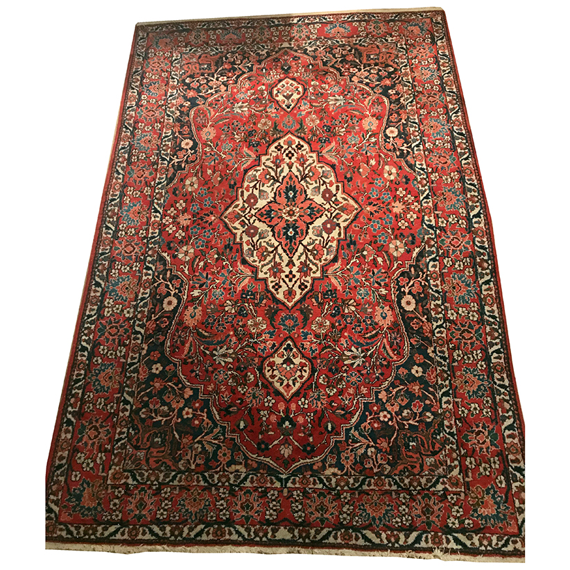 grand tapis de style persan le chat rouge. Black Bedroom Furniture Sets. Home Design Ideas