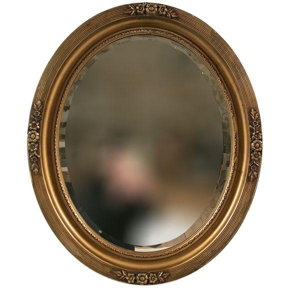 miroir-ovale-cadre-stuc-dore