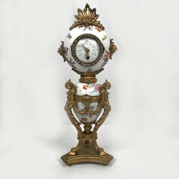 pendule-napoleon-iii-faience-bronze
