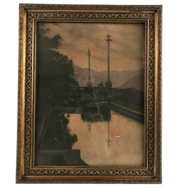 aquarelle-encadrement-napoleon-iii