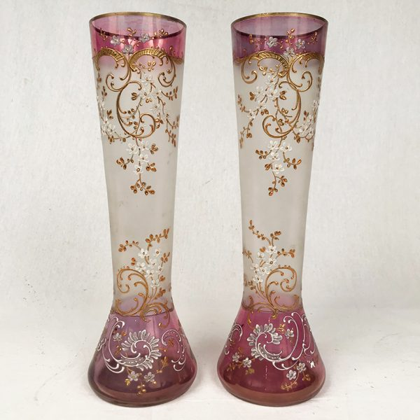 paire-grands-vases-decor-emaille