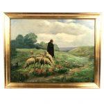 huile-sur-toile-moutons