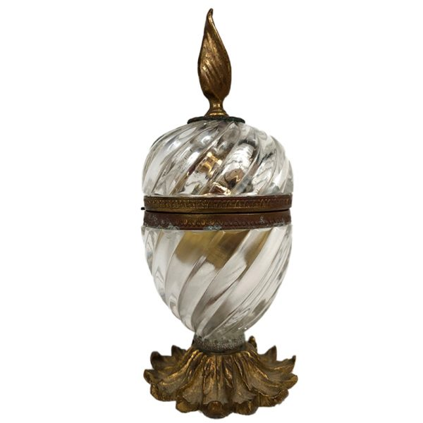 briquet-de-table-cristal-bronze
