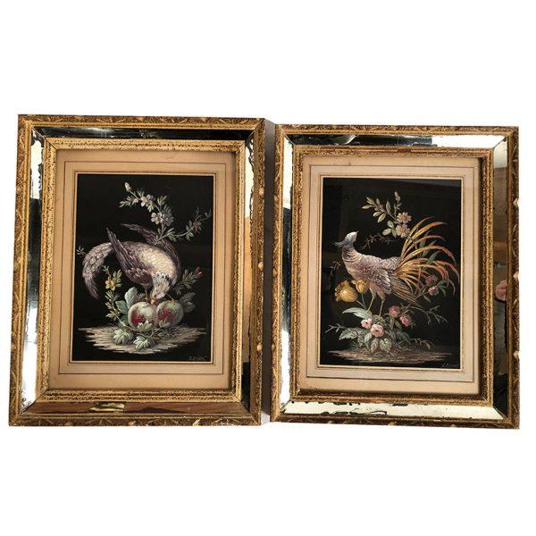 paire-de-gouaches-oiseaux