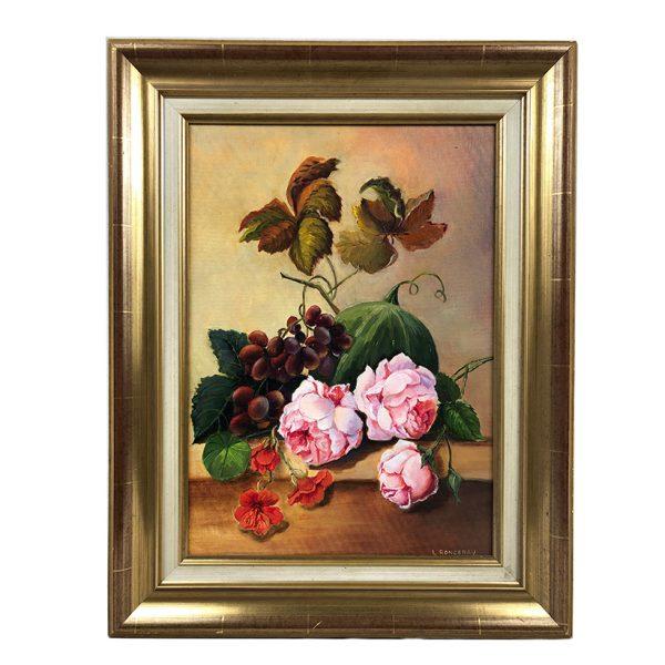 tableau-fleurs-fruits