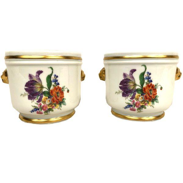 cache-pots-porcelaine-decor-fleurs