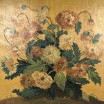 carton-tapisserie-aubusson-bouquet-fleurs