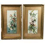 paire-grandes-aquarelles-bouquets-fleurs